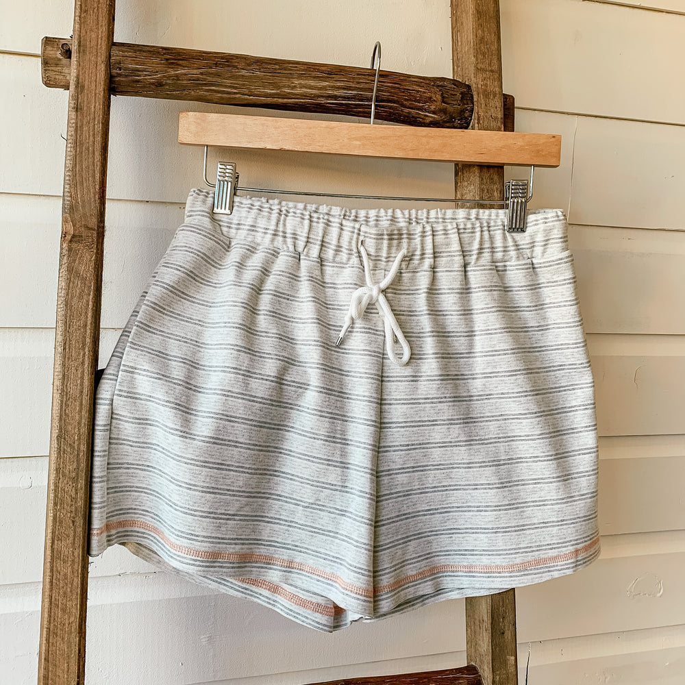 Hem & Thread Vintage Stripe Short