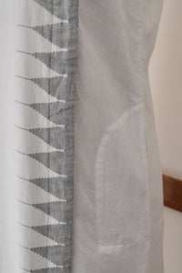Tunic with temple border design and pockets