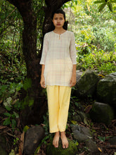 Load image into Gallery viewer, Handwoven Side Gusset Cotton Blouse, designed by Khumanthem Atelier