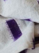 Load image into Gallery viewer, close up view of the Ikat weave