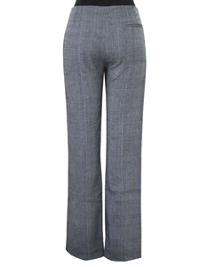 Back view of the Relax Fit Handwoven Trouser made from 100% cotton designed by Khumanthem Atelier