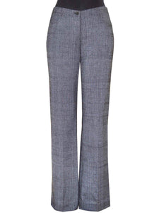 Front view of the Relax Fit Handwoven Trouser made from 100% cotton designed by Khumanthem Atelier