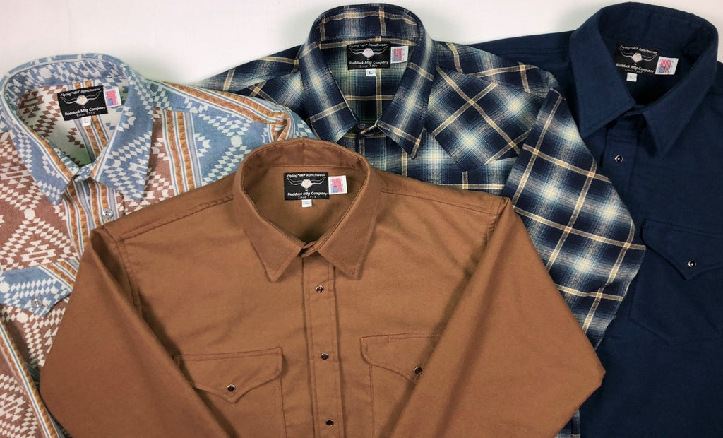 made in usa flannels