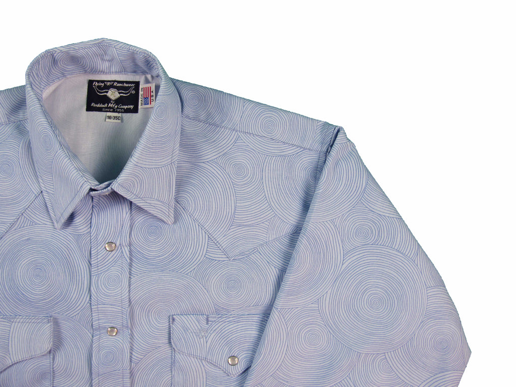 Ruddock Shirts Made in USA Snap Shirt Flying R Ranchwear