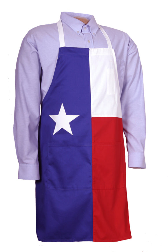 Texas Cotton One Size Lone Star Flag Apron