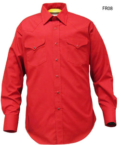 Flying R Ranchwear Solid Red
