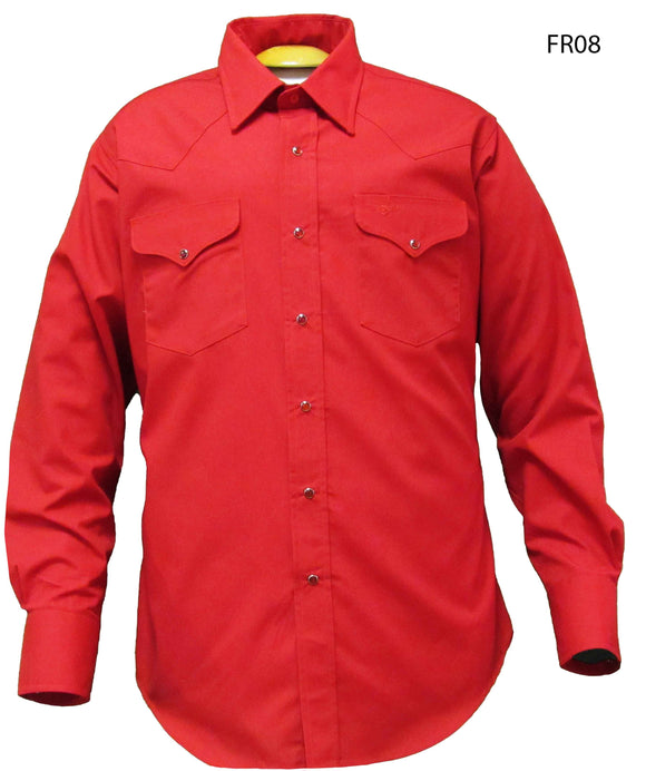 Flying R Ranchwear - Solid - Red Long Sleeve