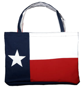 Texas Cotton Lone Star Flag Tote Bag