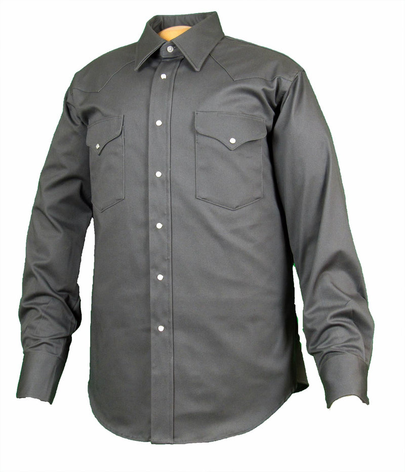Ruddock Shirts Made in USA Snap Shirt Flying R Ranchwear Big Man Tall Man