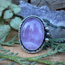 Load image into Gallery viewer, Amethyst & Copper Ring / Size 6
