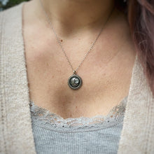 Load image into Gallery viewer, MOONLIGHT Rainbow Moonstone Necklace / 18.5""
