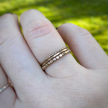 Load image into Gallery viewer, Goldfilled Stacking Ring Set / Size 8.5