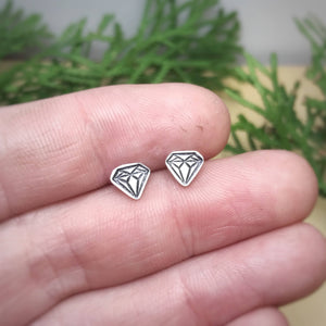 Faux Diamond Studs / Made to Order