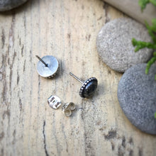 Load image into Gallery viewer, Labradorite Rose Cut Studs / Made to Order
