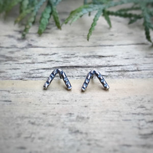 Chevron Studs / Made to Order