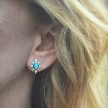 Load image into Gallery viewer, Turquoise Polaris Studs / Made to Order
