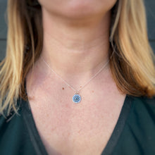 "Load image into Gallery viewer, Compass Necklace - Opal / 16"" / Made to Order"