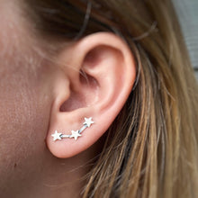 Load image into Gallery viewer, Constellation Ear Climbers / Made to Order