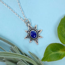 "Load image into Gallery viewer, Polaris Necklace - Lapis Lazuli / 17"" / Made to Order"