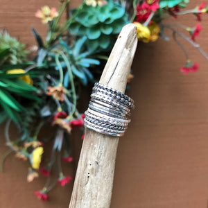 Sterling Silver Stacking Ring / Made to Order