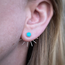 Load image into Gallery viewer, Fan Ear Jackets - Turquoise / Made to Order