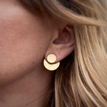 Load image into Gallery viewer, Disc Ear Jacket Set - Brass / Made to Order