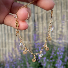 Load image into Gallery viewer, Gold Filled & Citrine Bracelet