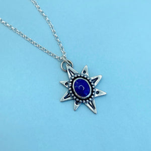 "Polaris Necklace - Lapis Lazuli / 17"" / Made to Order"