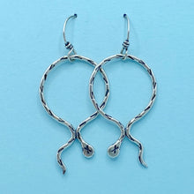 Load image into Gallery viewer, Serpentine Hoop Earrings / Made to Order