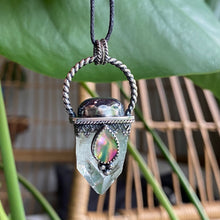 Load image into Gallery viewer, Apophyllite Crystal Point Pendant