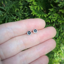 Load image into Gallery viewer, Stamped Starburst Studs / Made to Order