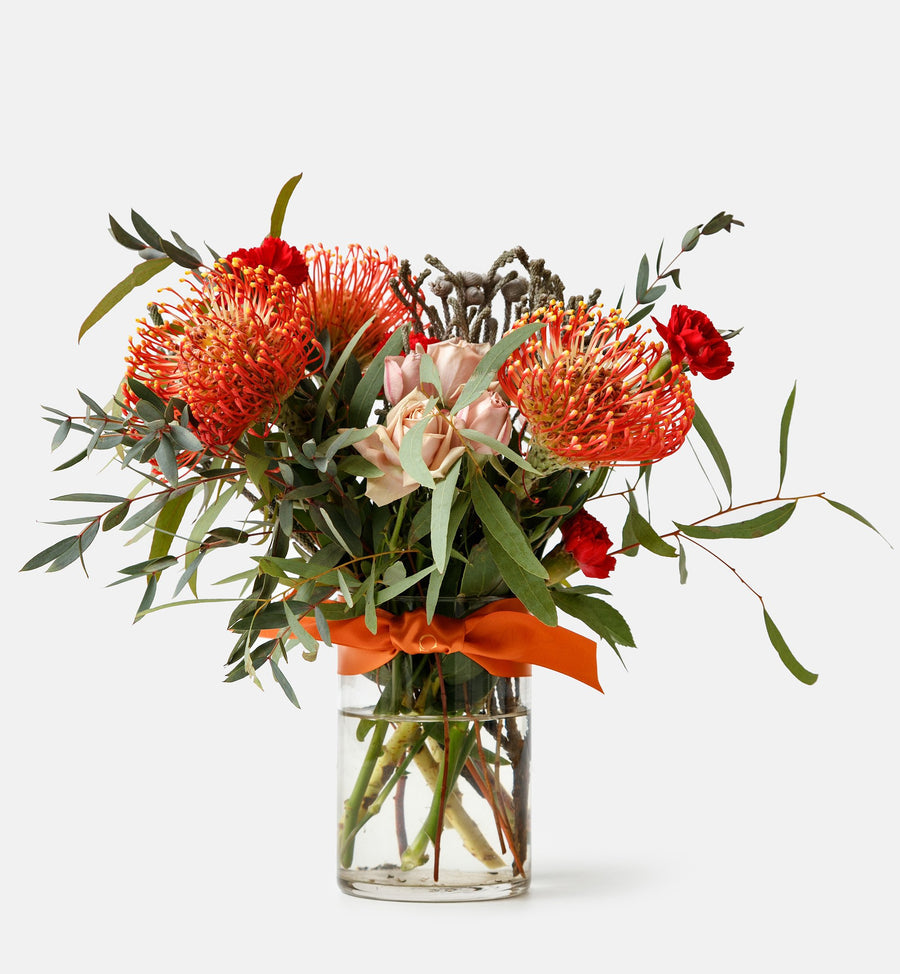 Fresh Floral Arrangement in Vase - Classic