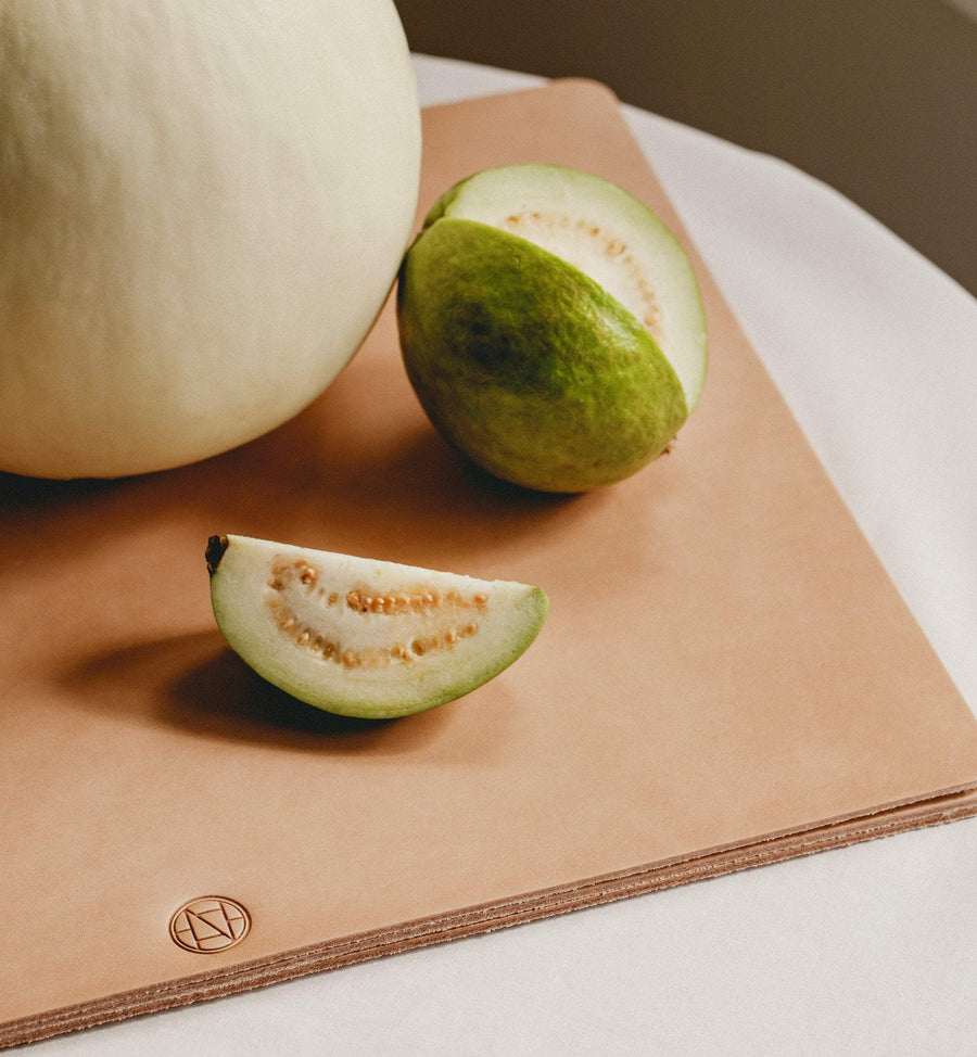 Cadine genuine leather table mat