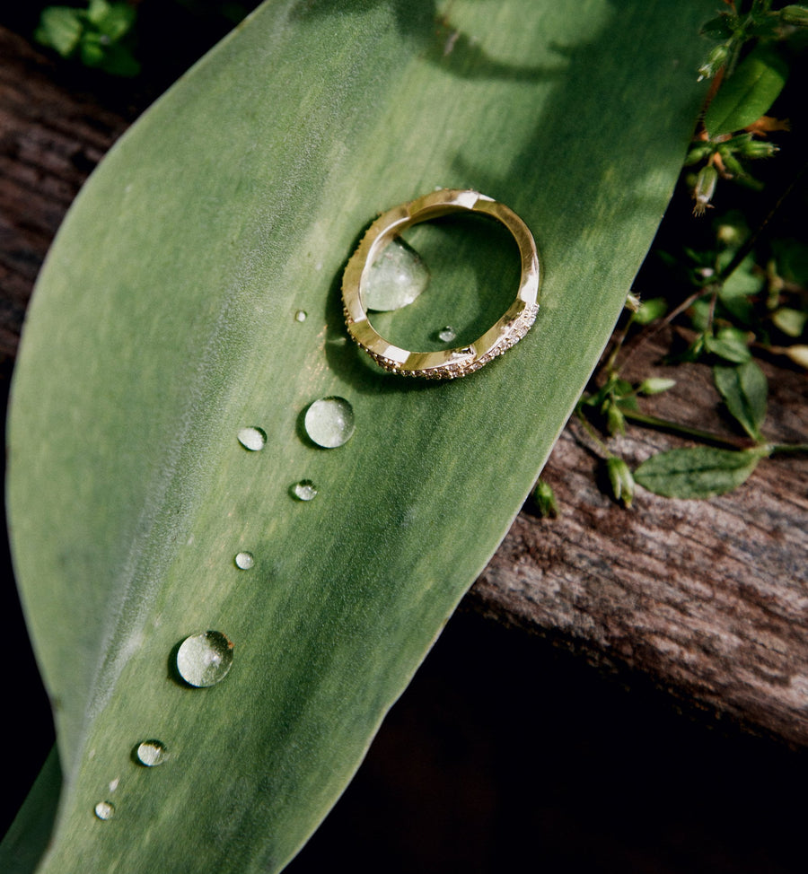 Ayana Ring - 14kt Solid Gold