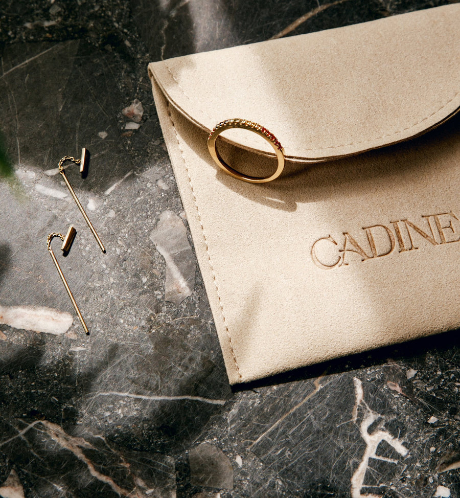 Cadine 14kt solid gold jewellery