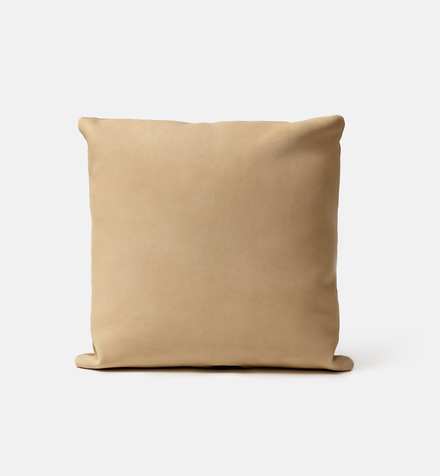 Cushion - Sand Leather