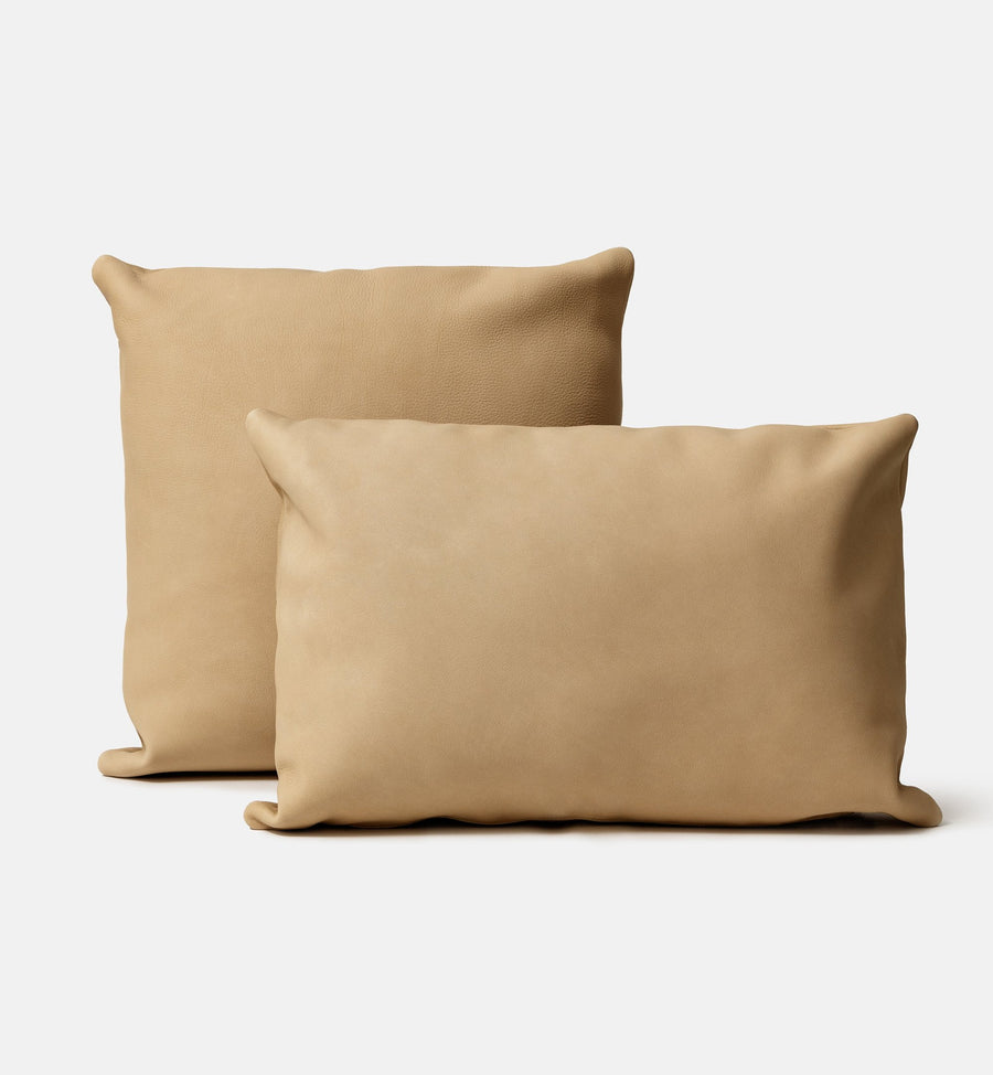 Cadine genuine Italian leather cushion
