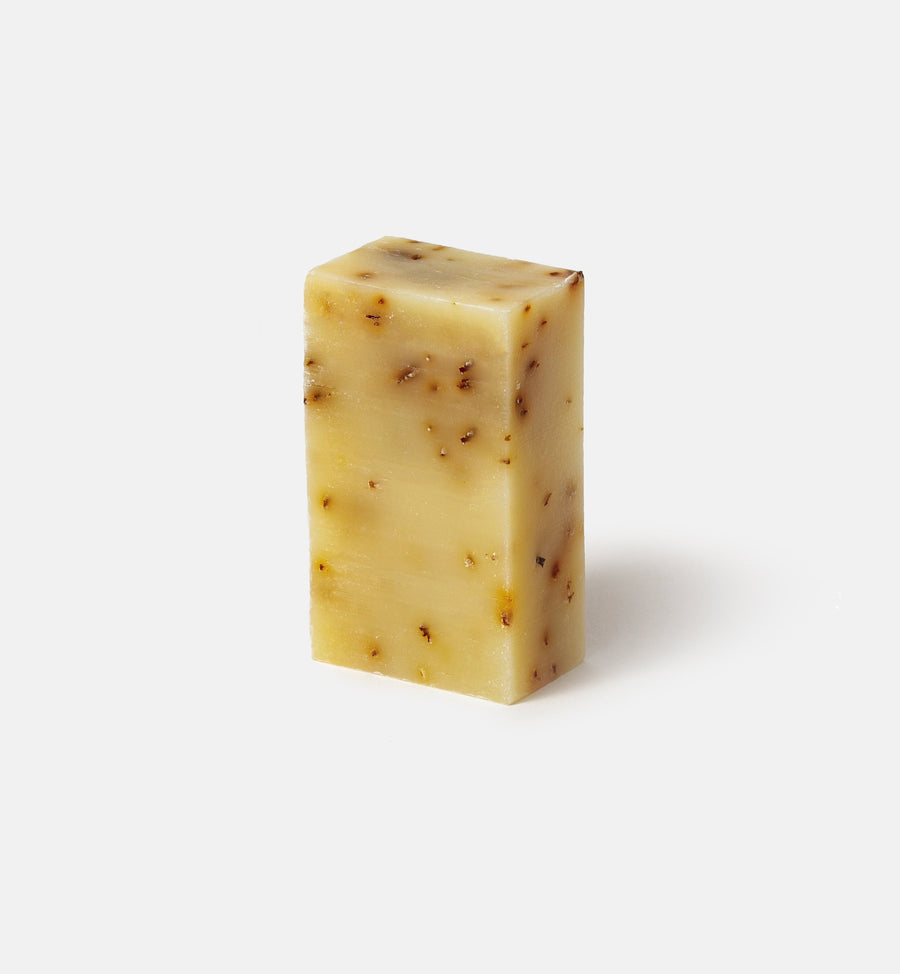 Invigorating peppermint cleansing bar