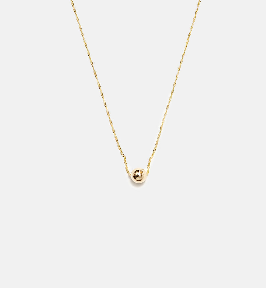 Allium Necklace - 14kt Solid Gold