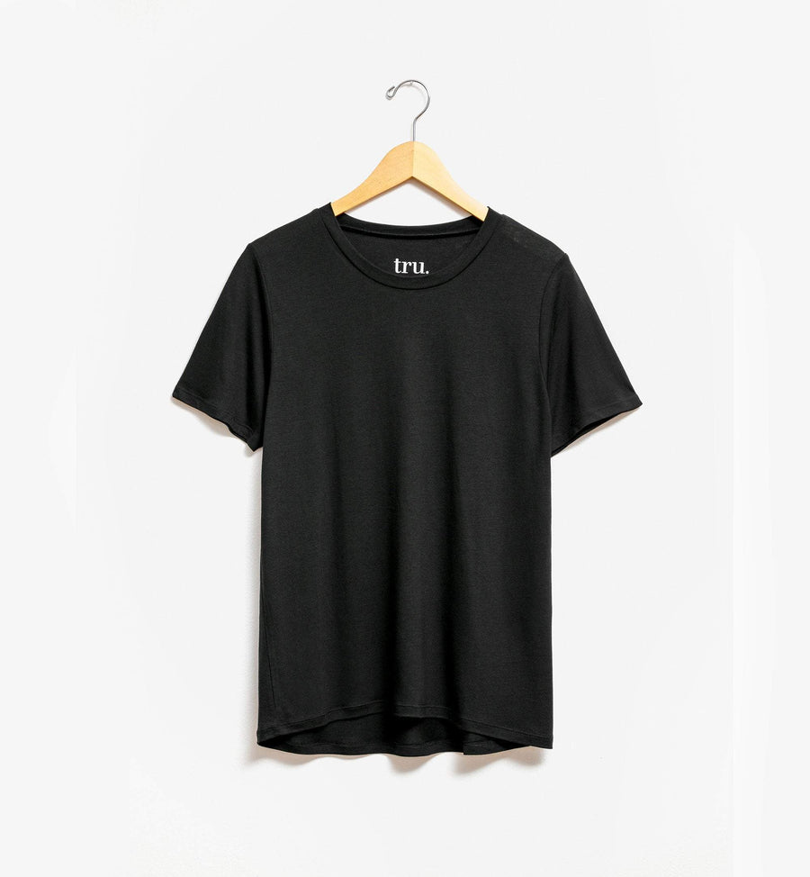 Black relaxed fit t-shirt