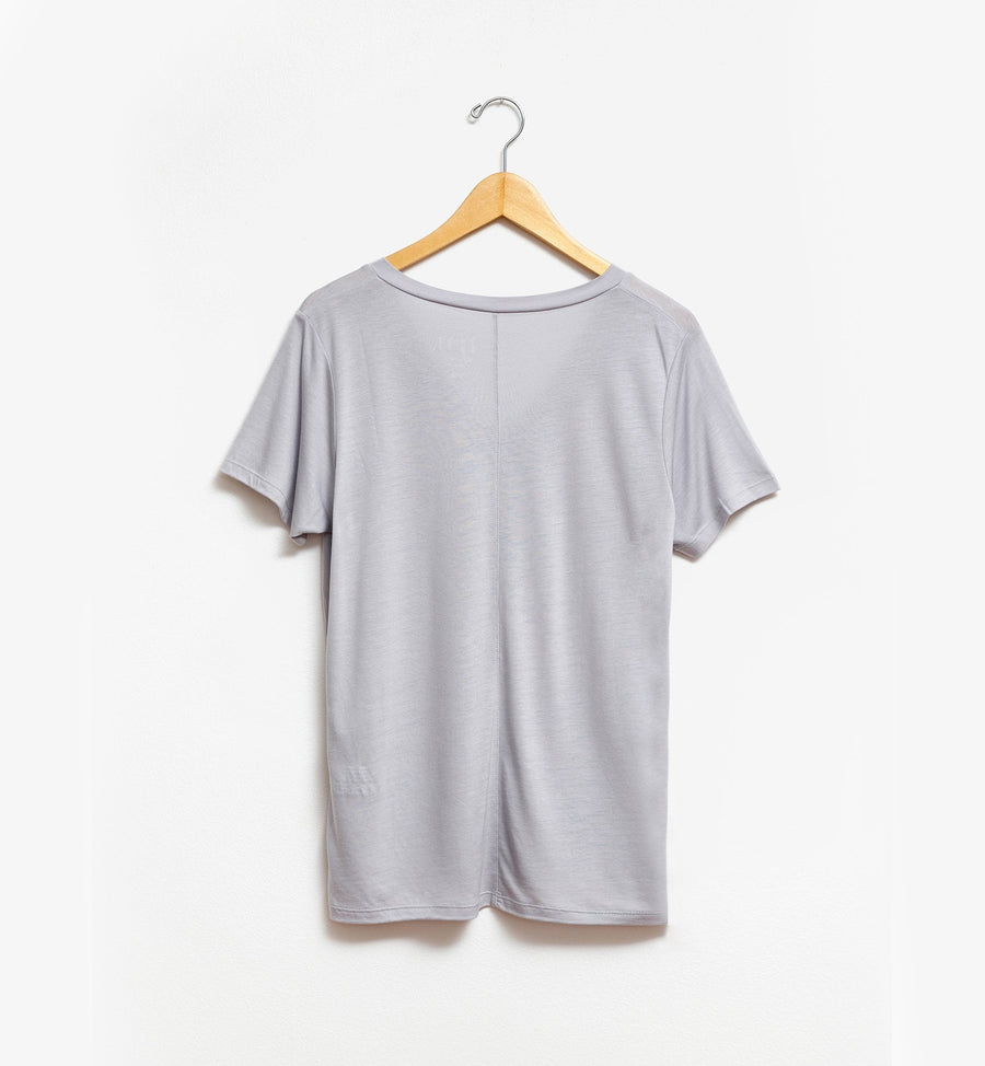 Gable Tee - Light Grey