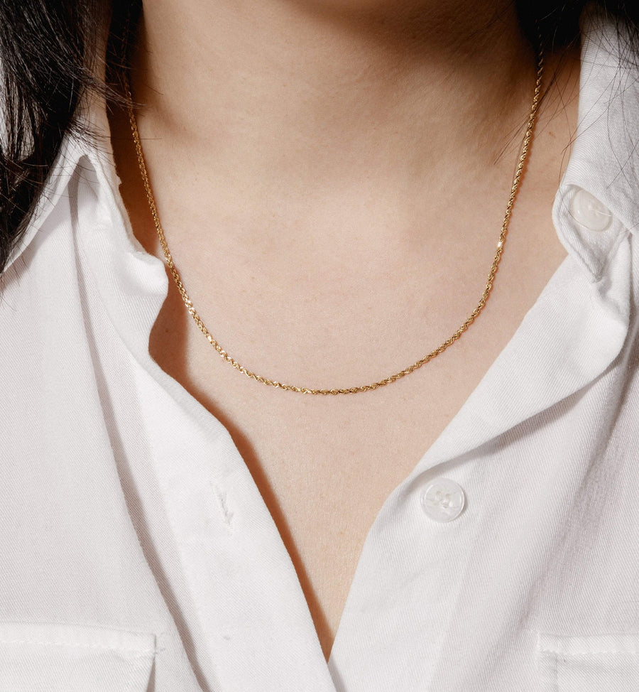 Hazel Necklace - 14kt Solid Gold