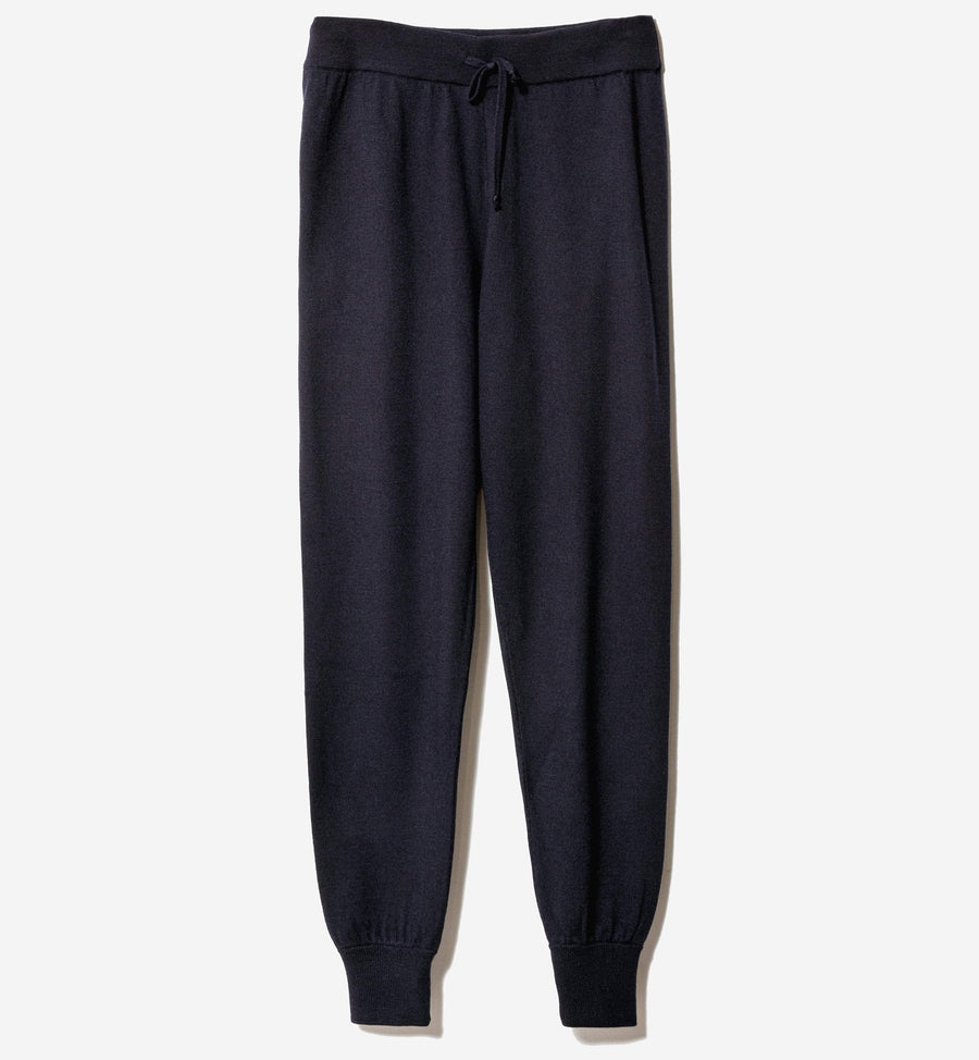 Path Knit Pant - Navy