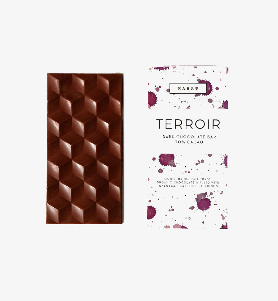 Terroir Cabernet Sauvignon Chocolate Bar