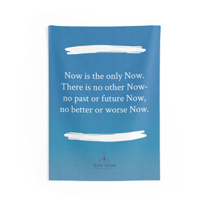 """Now is the only Now. There is no other Now- no past or future Now, no better or worse Now."""