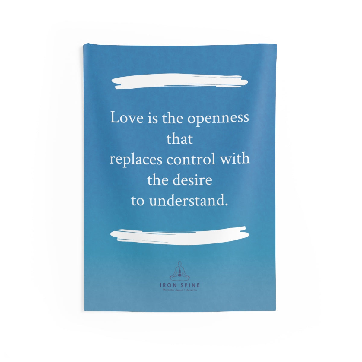 """Love is the openness that  replaces control with the desire  to understand."""