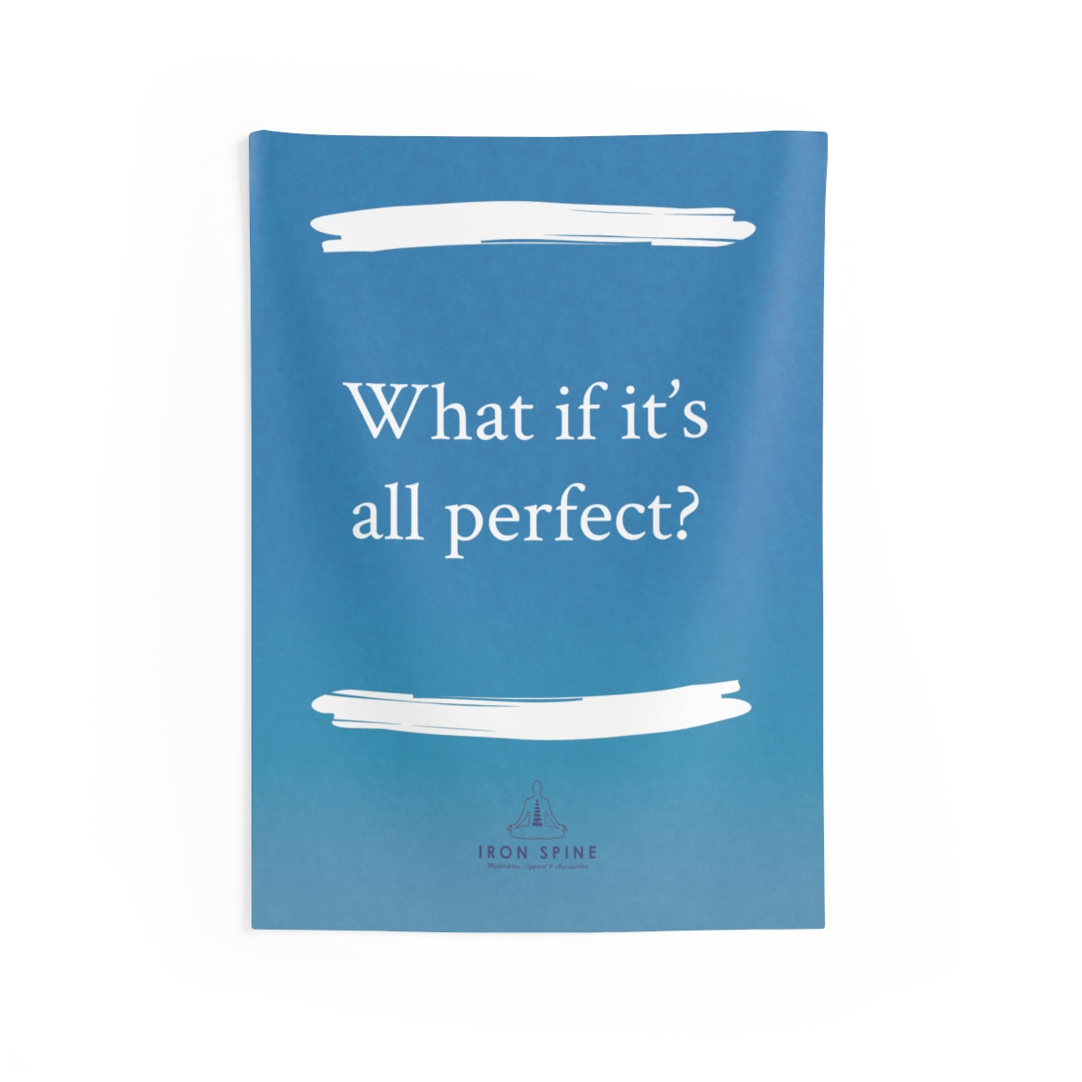 """What if it's all perfect?"""