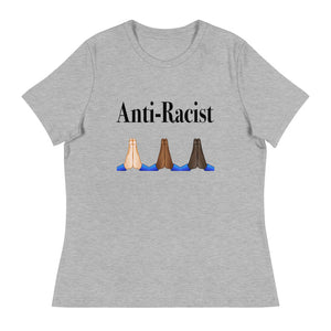 Anti-Racist Womens T-Shirt