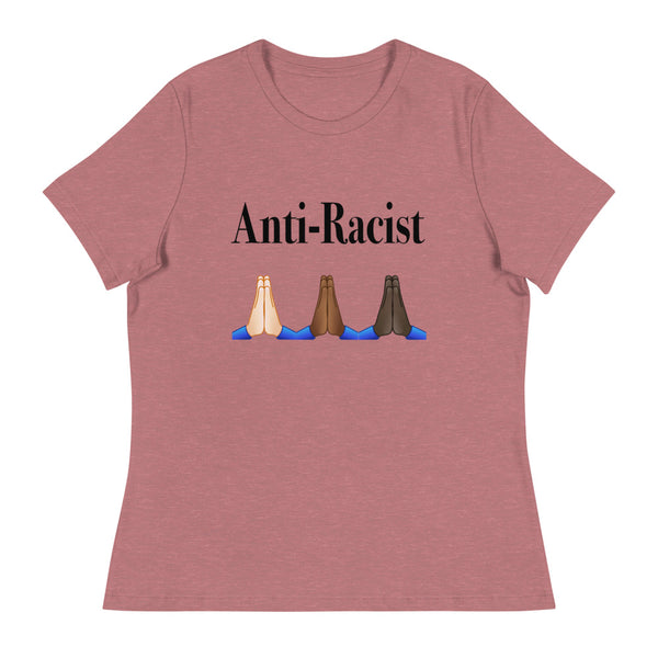 Anti-Racist Womens Relaxed T-Shirt