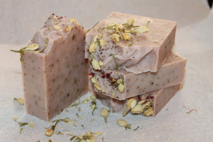 Handcrafted Herbal Fresh Wild Rose & Eucalyptus Soap